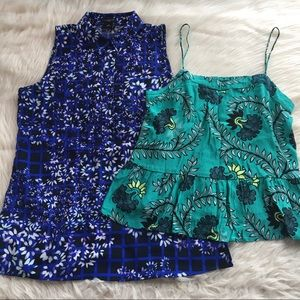 Two Ann Taylor & Loft tops small petite sP